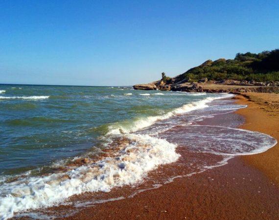 Мониторинг Каспийского побережья 18 февраля 2021г.